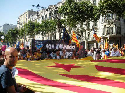 Belotti protesta in Catalogna