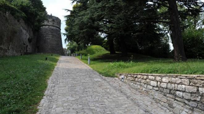 Castello di San Vigilio. Il degrado