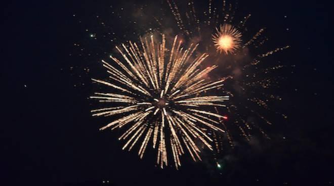 Fuochi d'artificio, lo show