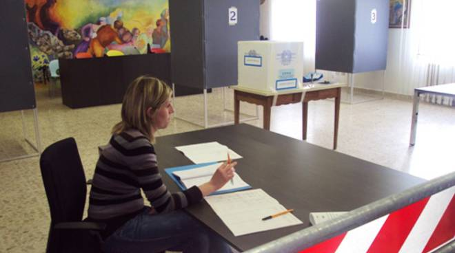 I seggi elettorali in Bergamasca