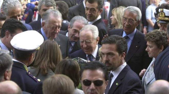 La visita del presidente Ciampi