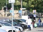 Parcheggiatori in via Grataroli