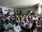 Preghiera del ramadan alla moschea