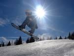 Snowboarder a San Simone