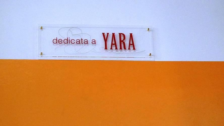 Yara, un anno dalla scomparsa