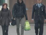 Cristiano Doni esce dal carcere di Cremona
