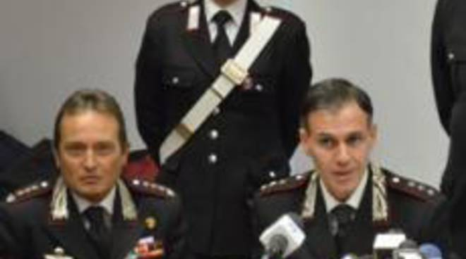 Il colonnello e il capitano dei carabinieri di Brescia