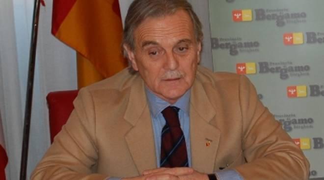 Il presidente della Provincia, Ettore Pirovano