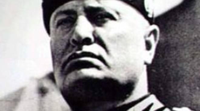 Mussolini cittadino onorario di Bergamo
