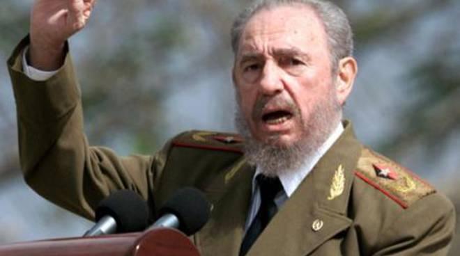 Il presidente cubano Fidel Castro