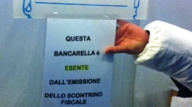 Cartello a Bergamo