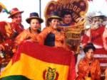 Gruppo folclorico boliviano