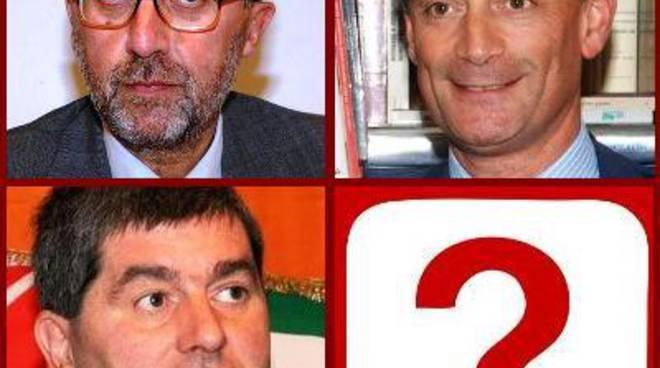 Luigi Bresciani, Carlo Mazzoleni e Ferdinando Piccinini