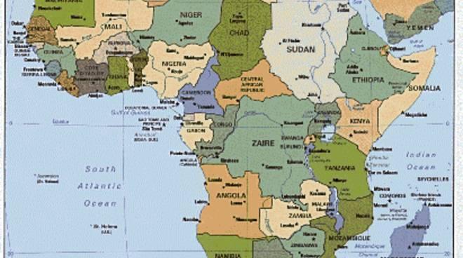 L Africa Cartina Geografica.Frontiere D Africa Quei Confini Tracciati Col Righello Bergamo News