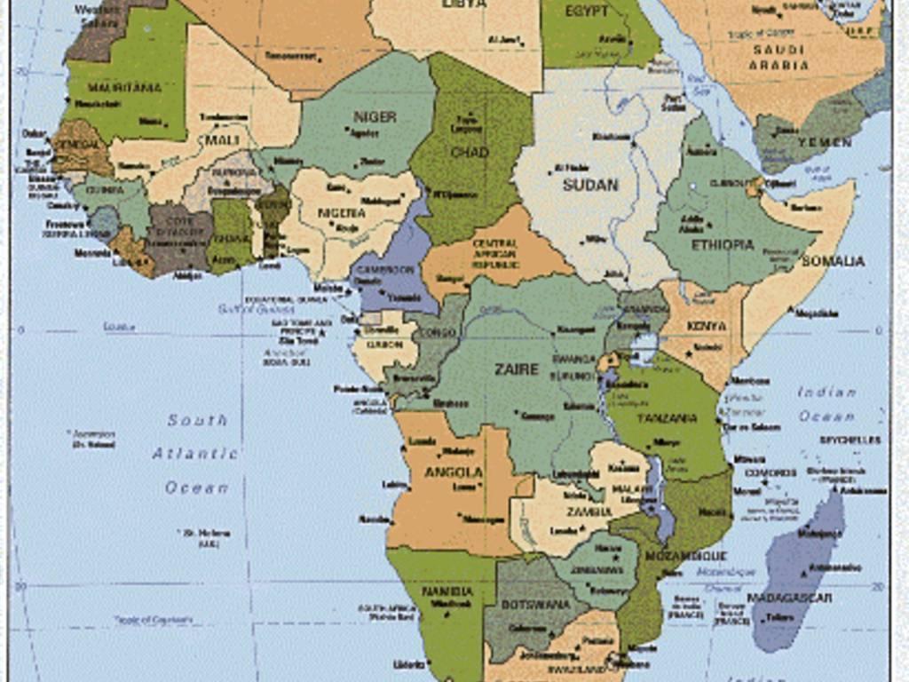 Cartina Politica Africa In Italiano.Frontiere D Africa Quei Confini Tracciati Col Righello Bergamonews