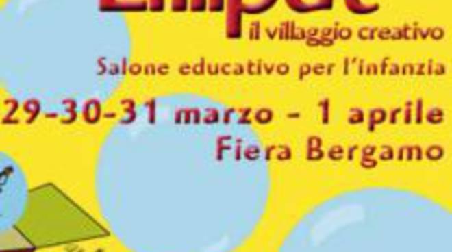 Il logo di Lilliput alla Fiera di Bergamo