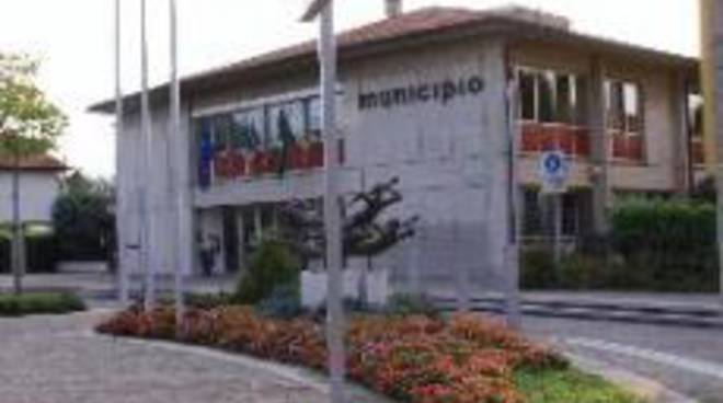 Il municipio di Curno