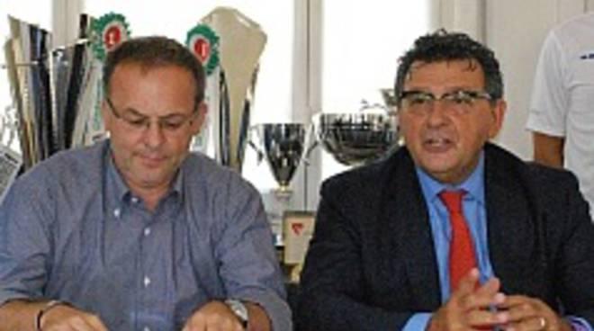 Il dg Giovanni Panzetti con patron Luciano Bonetti