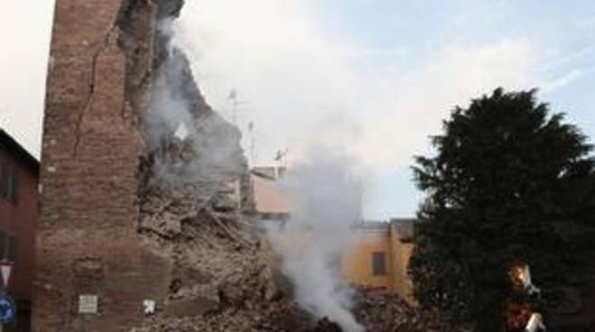 Terremoto in Emilia (Foto tratta dal sito Ansa)