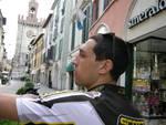 Bergamo-Praga in bici|Le prime immagini del viaggio