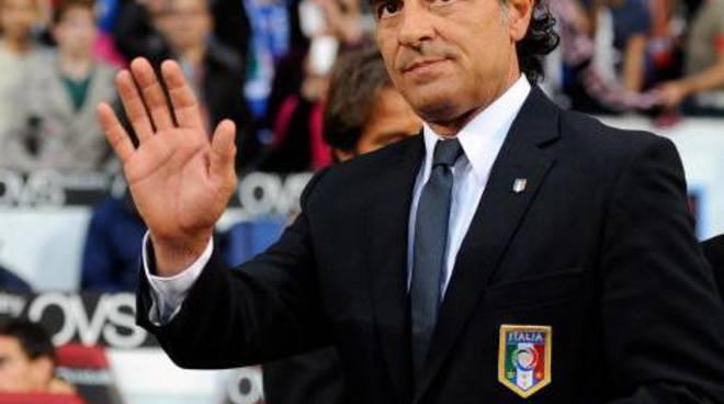 Cesare Prandelli, ct azzurro dal 2010