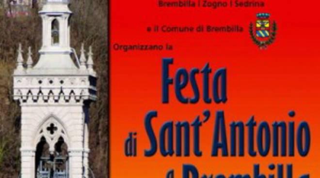 Due giorni di festa a Brembilla per sant'Antonio