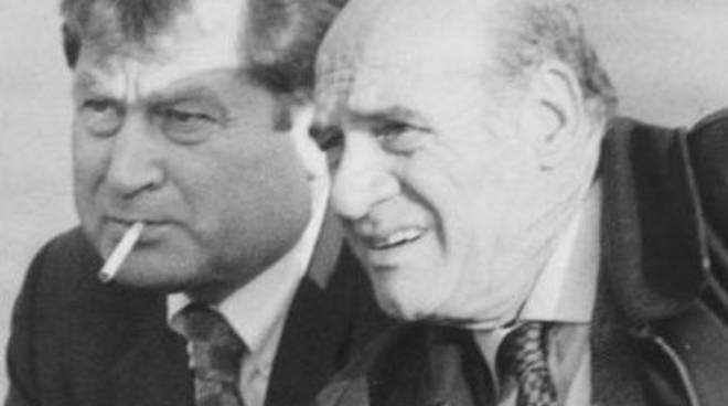 Franco Previtali con Ivan Ruggeri
