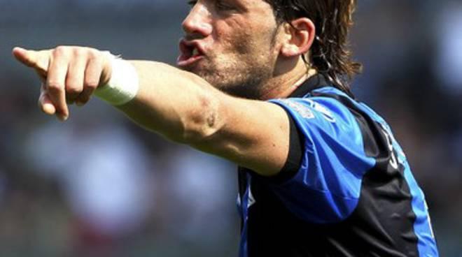 """Guglialmo """"Willy"""" Stendardo con la maglia dell'Atalanta"""