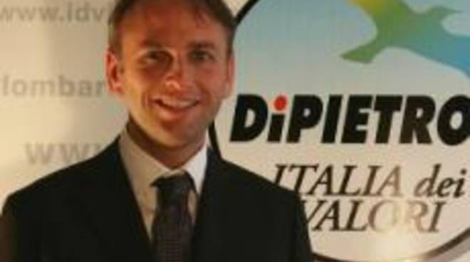 Il consigliere regionale dell'Idv Gabriele Sola