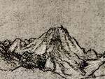 Lo schizzo del monte Arera di Leonardo Da Vinci