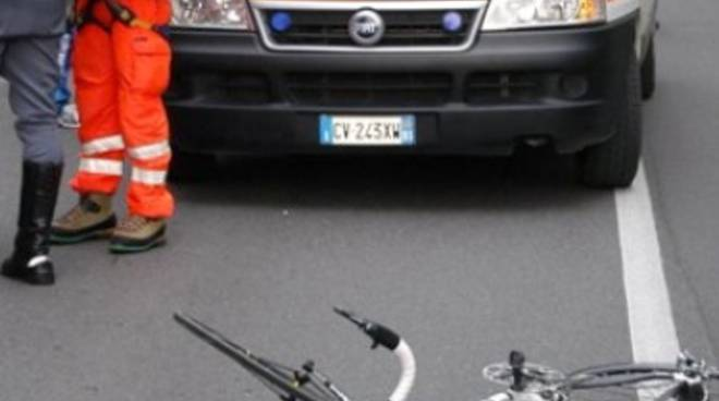 Malore in bici
