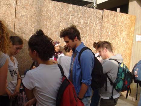 """Maturità 2012, le studentesse del """"Galli"""""""