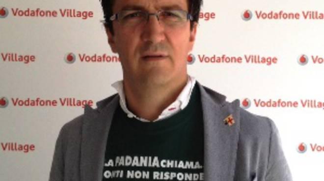 Roberto Pedretti con la maglietta