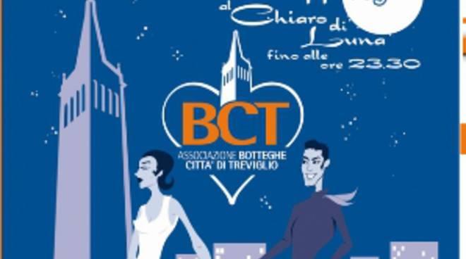 Shopping sotto le stelle a Treviglio tutti i mercoledì sera di giugno e luglio.