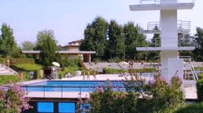 Una veduta delle piscine Italcementi