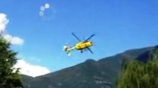 Elicottero 118 Modello : Elicottero precipitato guarda il video della caduta