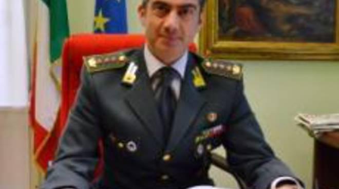 Il Comandante della Guardia di Finanza Giovanni De Roma
