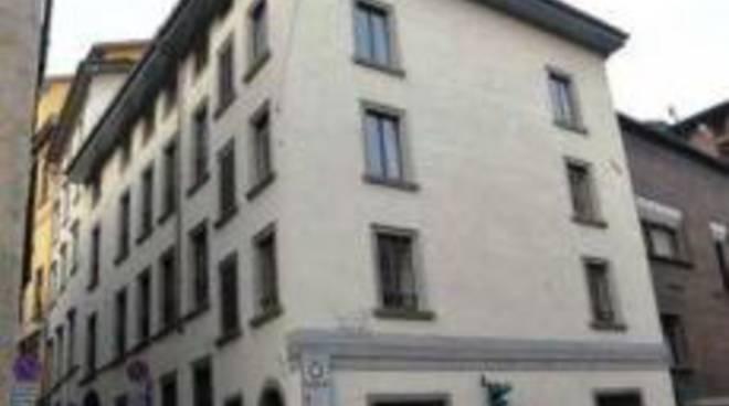 L'edificio che sarebbe stato destinato alla Scuola di Magistratura