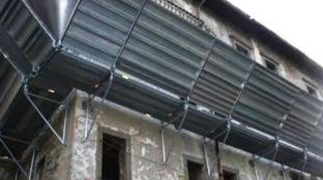 L'esterno dell'ex carcere di Sant'Agata come si presenta oggi