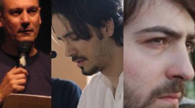 Raul Montanari, Agostino Cornali ed Andrea Marchesi.