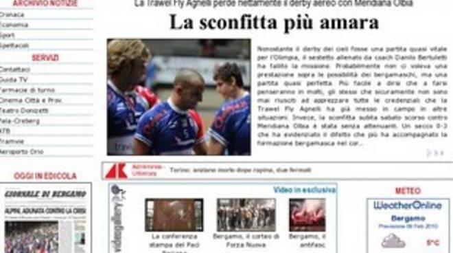 Sabato chiude il Nuovo Giornale di Bergamo