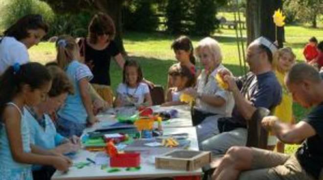 Festa delle ludoteche al parco Turani