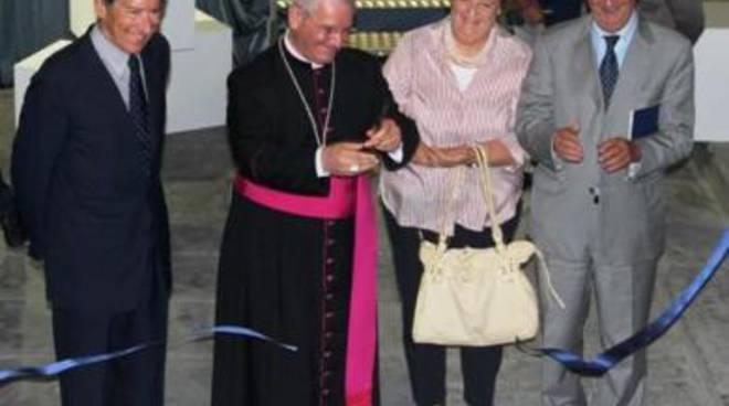 Il ministro Terzi, il vescovo Beschi, il ministro Cancellieri e il ministro Ornaghi