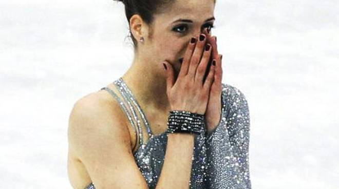 La pattinatrice bolzaneta Carolina Kostner