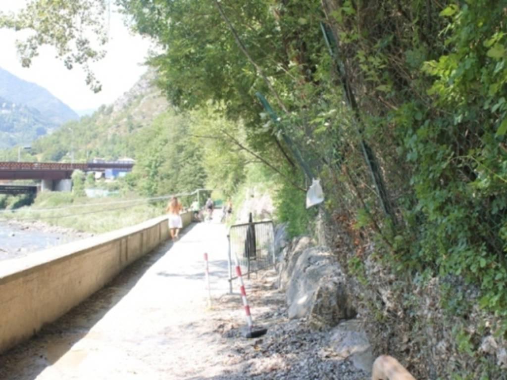 La pista ciclabile della Valle Brembana