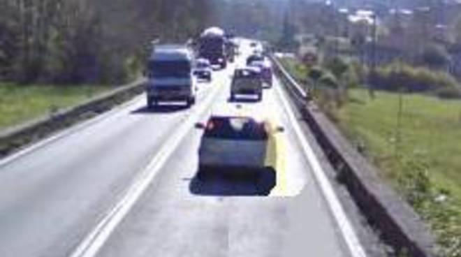 Traffico in Val Seriana