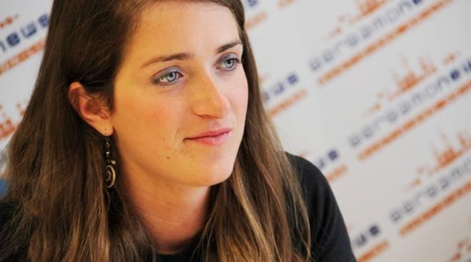 Martina Caironi in visita a Bergamonews