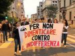 Fiaccolata contro la mafia a Bergamo