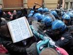 Gli scontri di Bologna