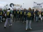 Nuovo Ospedale, protesta delle imprese creditrici - 1